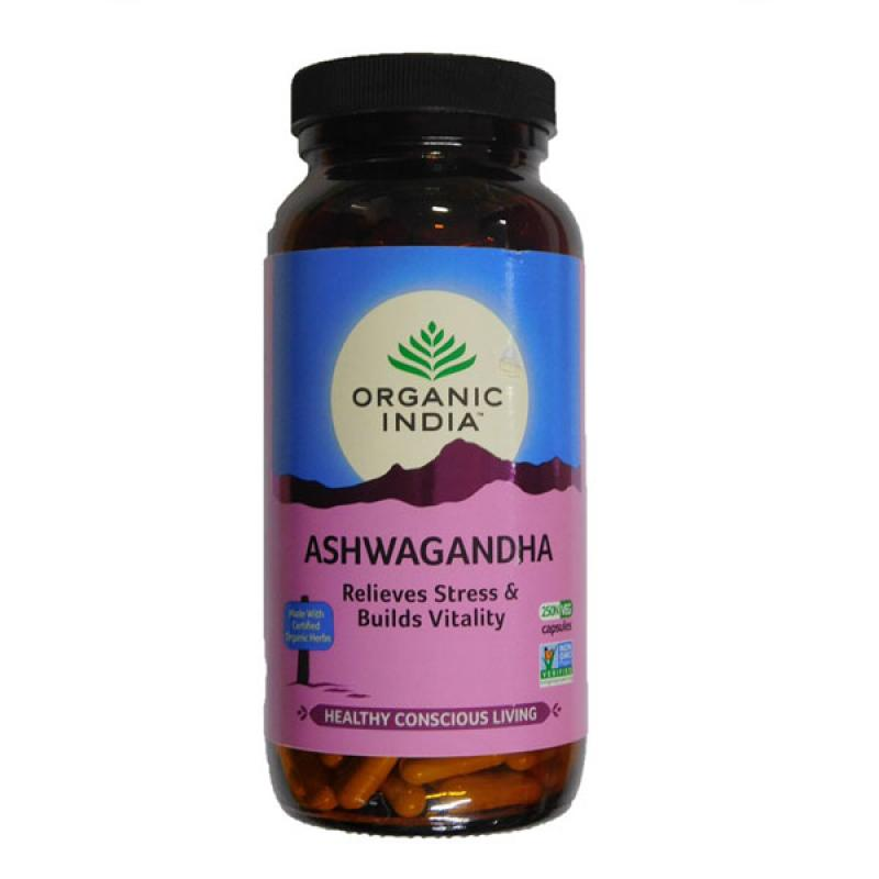 Ashwagandha 250 Capsules Bottle