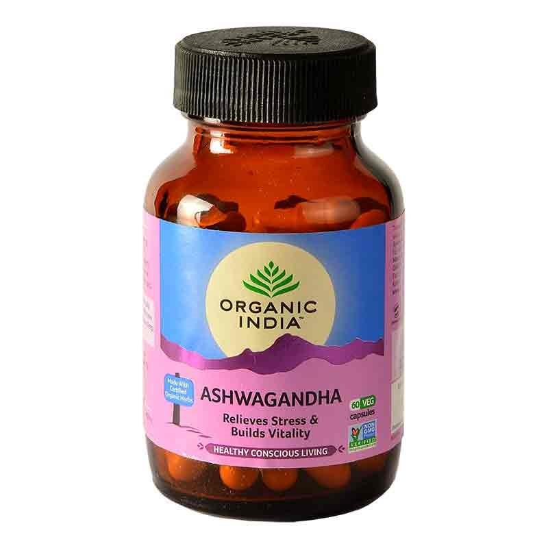 Ashwagandha 60 Capsules Bottle