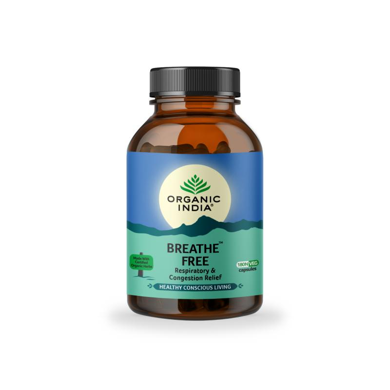 Breathe Free 180 Capsules Bottle