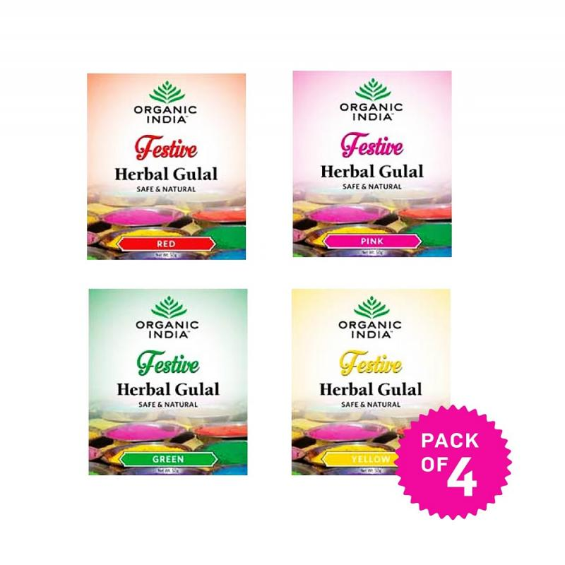 Herbal Holi Gulal Pack