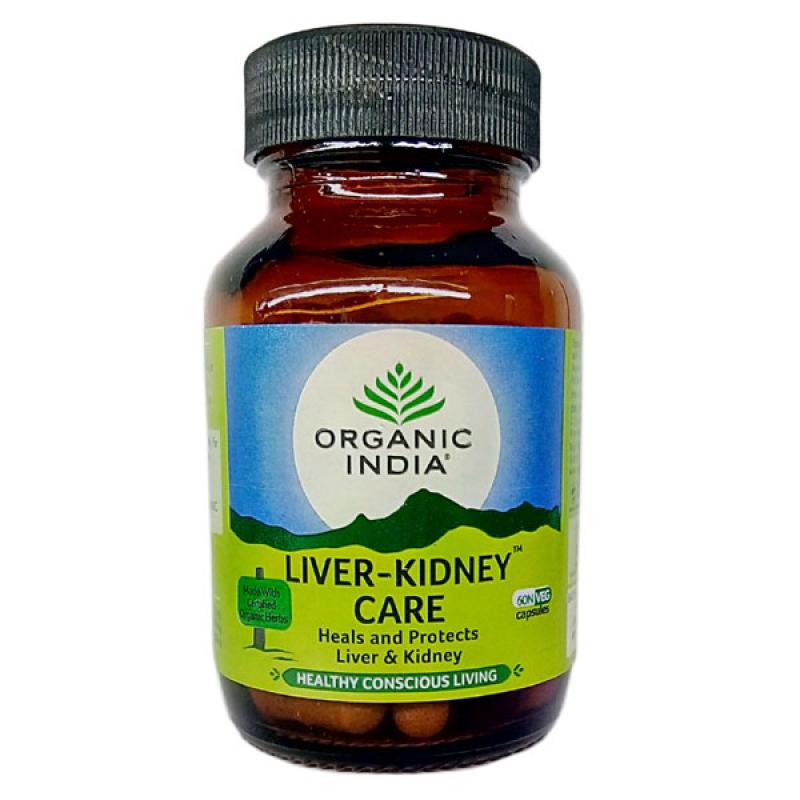 Liver-Kidney Care 60 Capsules Bottle