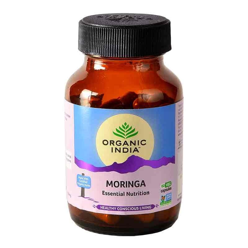 Moringa 60 Capsules Bottle