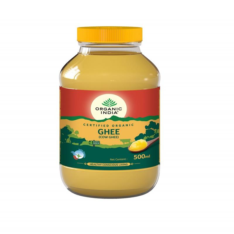 Organic Cow Ghee 500 ml Bottle
