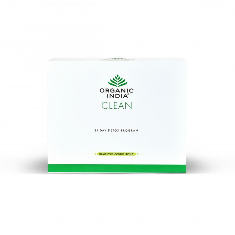 ORGANIC INDIA CLEAN Detox Program for 21 Days