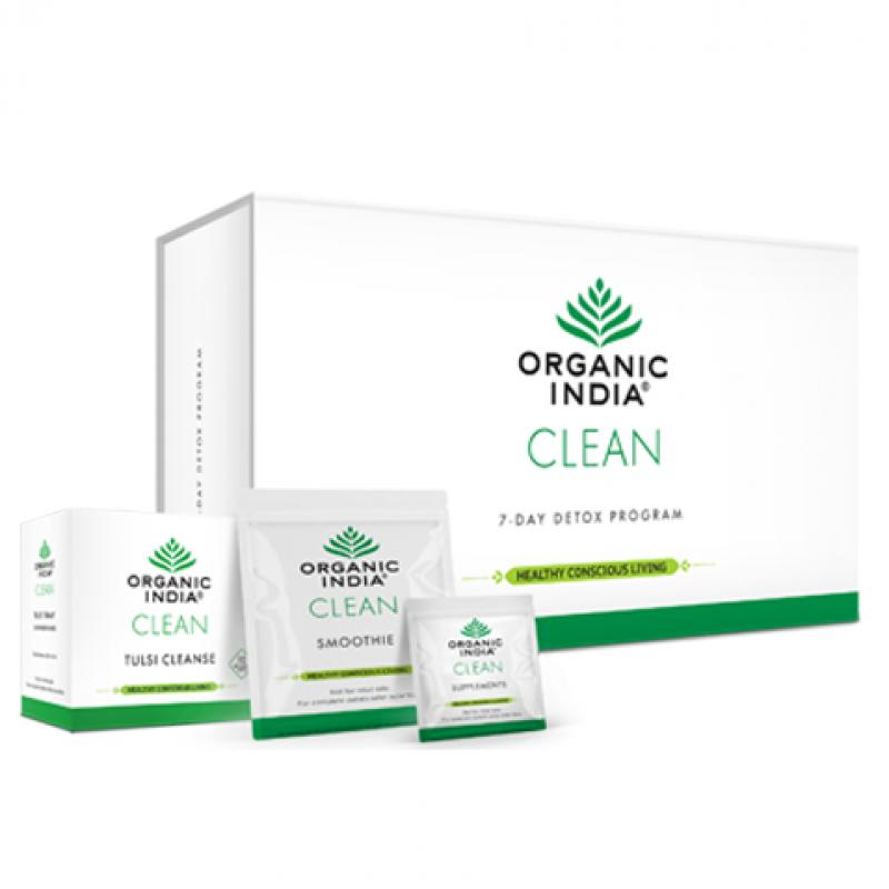 ORGANIC INDIA CLEAN Detox Program for 7 Days