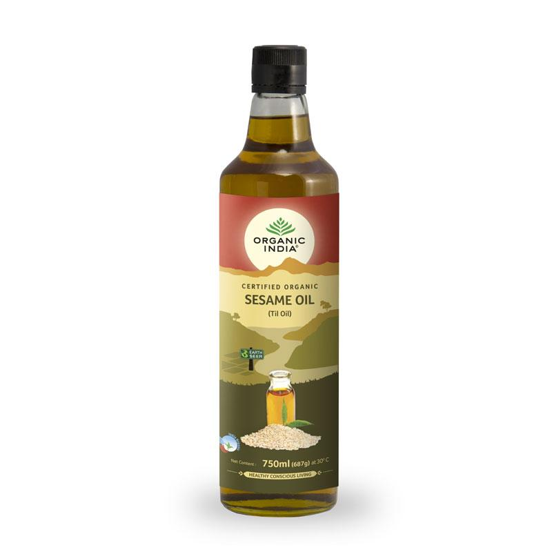 Organic Sesame Oil 750ml