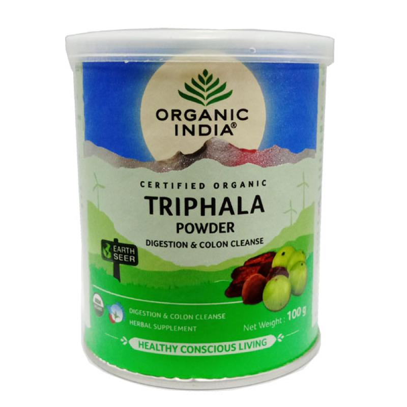 Buy Organic India Triphala Powder 100 Gm - Best Colon Cleanse