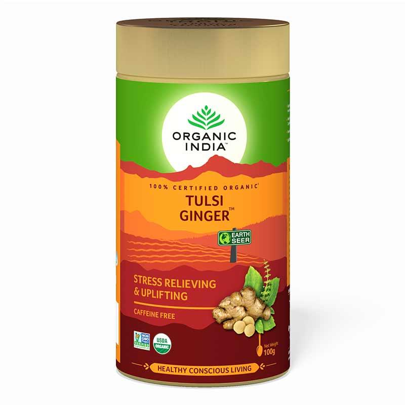 Tulsi Ginger 100 Gram Tin