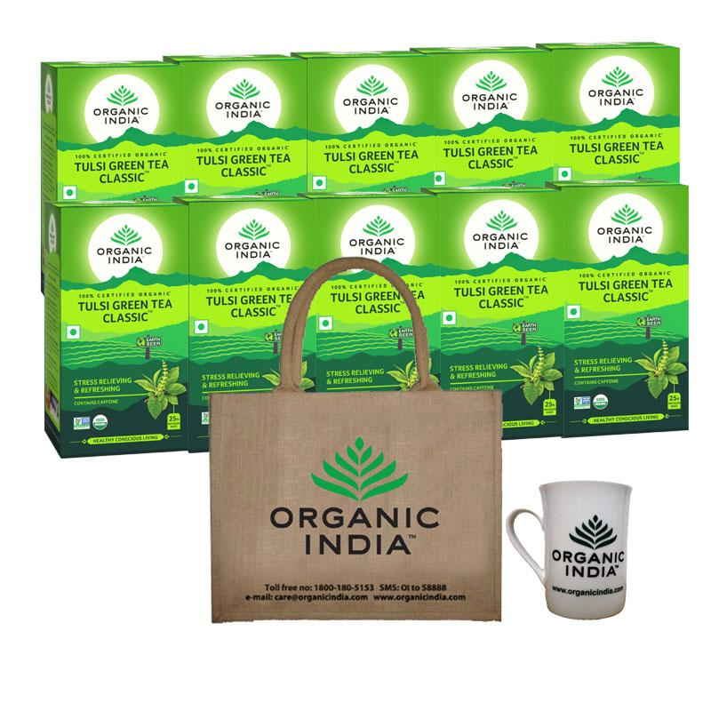Tulsi Green Tea Classic Festive Gift Combos