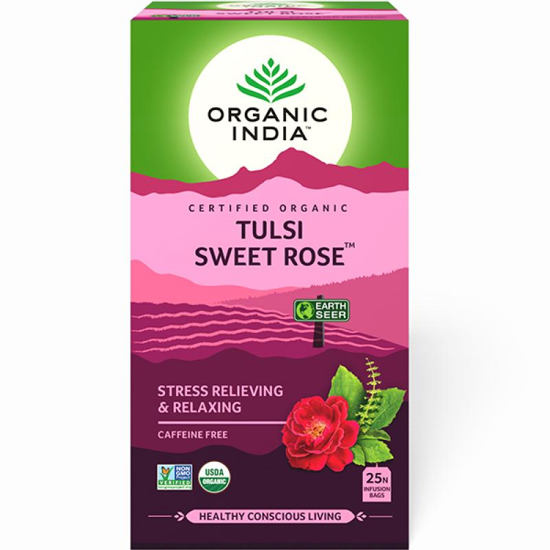Tulsi Sweet Rose 25 Tea Bags
